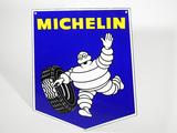 VINTAGE MICHELIN TIRES PORCELAIN SIGN
