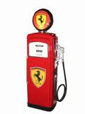LATE 1950S WAYNE MODEL 90 GAS PUMP IN FERRARI REGALIA
