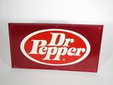 1960S DR PEPPER TIN SIGN