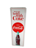 EARLY 1960S COCA-COLA TIN SIGN