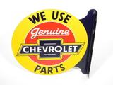 1930S-40S CHEVROLET GENUINE PARTS TIN SIGN