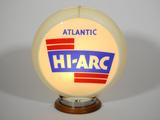 1950S ATLANTIC HI-ARC GAS PUMP GLOBE