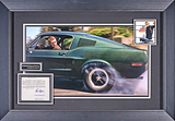 """Fantastic display from the ultimate car chase movie """"Bullitt""""."""