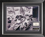 Fantastic black and white display from the movie Winning starring the legendary Paul Newman.