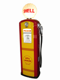 1940S-50S SHELL OIL BENNETT MODEL #646 GAS PUMP