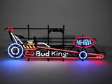 BUDWEISER/NHRA LIGHT-UP NEON SIGN