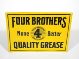 1920S-30S FOUR BROTHERS EMBOSSED TIN SIGN