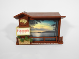 LATE 1950s-EARLY '60s HAMM'S BEER LIGHT-UP SIGN