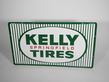 CIRCA LATE 1950S-EARLY '60S KELLY SPRINGFIELD TIRES EMBOSSED TIN SIGN