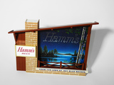 LATE 1950S HAMM'S BEER ANIMATED LIGHT-UP SIGN