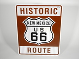 NEWER NEW MEXICO HISTORIC ROUTE 66 ROAD SIGN