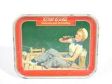 1947 COCA-COLA SERVING TRAY