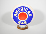 CIRCA 1940S AMERICAN GAS GAS PUMP GLOBE