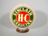 CIRCA 1940S H-C SINCLAIR GAS PUMP GLOBE