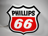 PHILLIPS 66 LIGHT-UP THREE-DIMENSIONAL SIGN