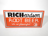 1940S-50S RICHARDSON ROOT BEER TIN SIGN