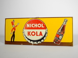 1950S NICHOL KOLA TIN SIGN