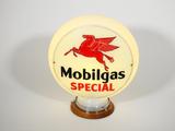 CIRCA 1940S-MOBILGAS SPECIAL GAS PUMP GLOBE