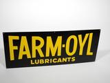 1940S-50S FARM-OYL LUBRICANTS TIN SIGN