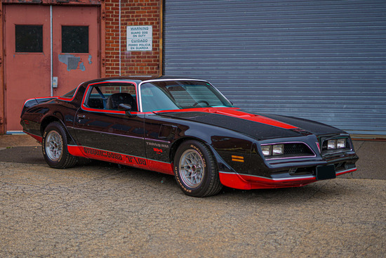 1978 PONTIAC FIREBIRD TRANS AM MECHAM MACHO COUPE