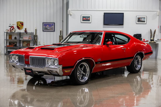 1970 OLDSMOBILE 442 CUSTOM COUPE