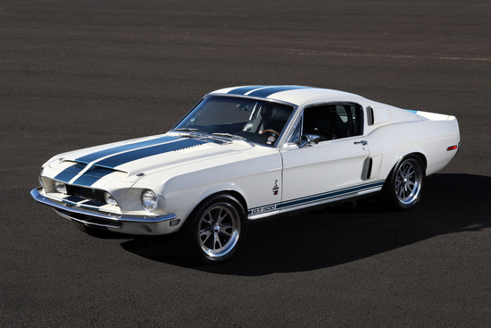 1968 FORD MUSTANG GT500 RE-CREATION