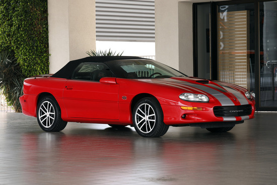 2002 CHEVROLET CAMARO SS 35TH ANNIVERSARY CONVERTIBLE