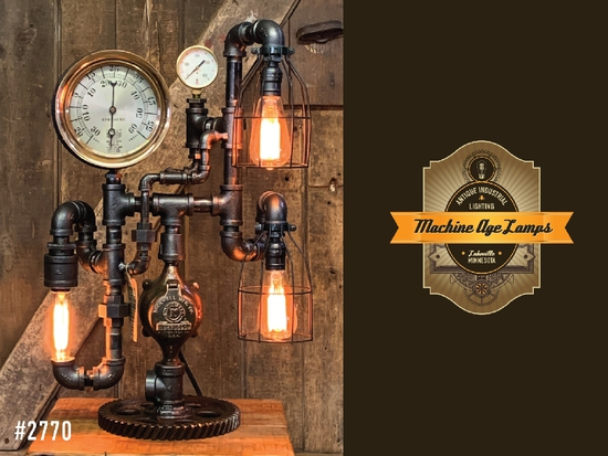 MACHINE AGE LAMPS: ANTIQUE INDUSTRIAL LIGHTING
