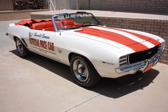 1969 CHEVROLET CAMARO Z11 CONVERTIBLE PACE CAR EDITION