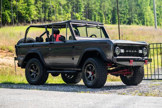 1969 FORD BRONCO CUSTOM SUV