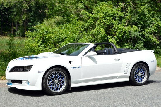 "2014 CHEVROLET CAMARO 2SS ""TRANS AM"" CUSTOM CONVERTIBLE"