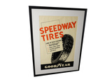 1930S GOODYEAR SPEEDWAY TIRES POSTER