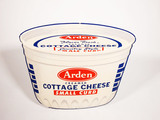 1950S ARDEN DAIRY COTTAGE CHEESE TIN SIGN