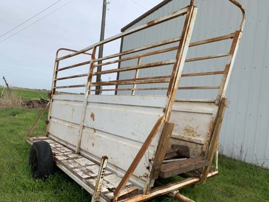 Metal Portable Cattle Loading Chute