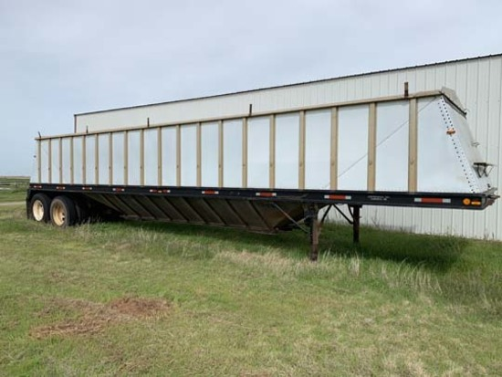 Doonan 45 ft. Aluminum Grain Traile
