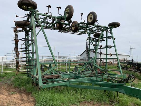 50 ft. Javorsky Field Cultivator w/Harrow
