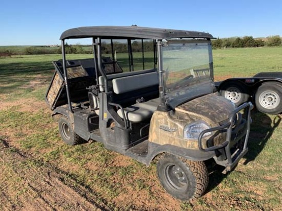 Kubota RTV1140, 6 seater