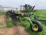 JD 2800 Moldboard Plow, 7 Bottom  w/Harrow, Pull-type