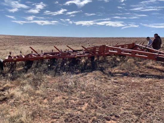 45 ft. Richardson Sweep Plow