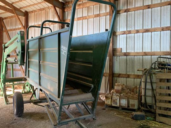 Big Valley Portable Cattle Loading Chute