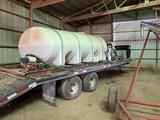 2,000 gal. Nurse Tank w/Transfer Pump on Skid
