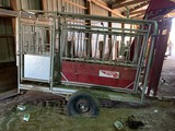 Silver King Portable Cattle Chute