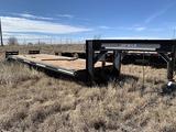 Donahue 3 Axle Flat Trailer