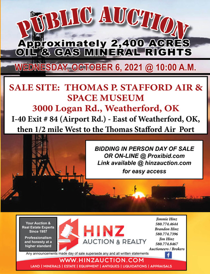 FALL MINERAL AUCTION