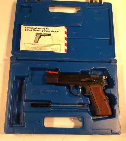 Springfield Armory P9 9mm - Used with box