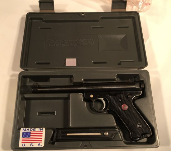 Ruger Mark II .22LR - Used with Box