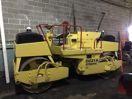 Dynapac CC21A 7 ton asphalt roller