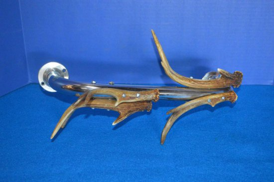 WALL MOUNT ANTLER HAT/COAT RACK