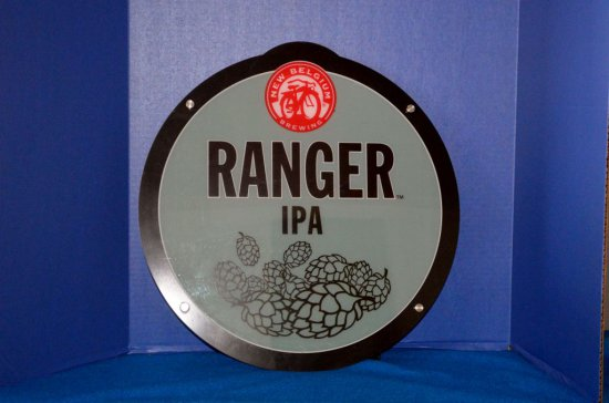 "ZEON CORP. NEW BELGIUM ""RANGER IPA"" LIGHTED SIGN"