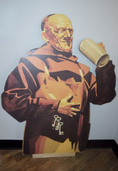 FRANZISKANER MONK WOOD CUT OUT -
